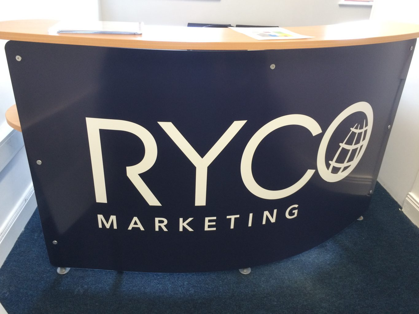 Main Ryco Reception desk