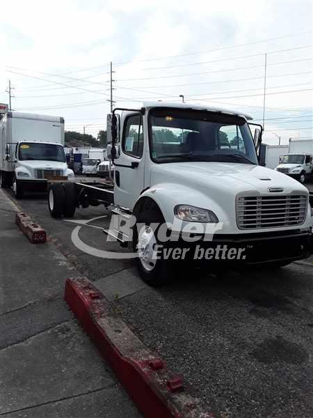 USED 2014 FREIGHTLINER M2 106 CAB CHASSIS TRUCK #661153