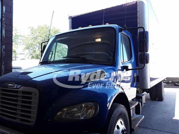 USED 2014 FREIGHTLINER M2 106 BOX VAN TRUCK #662982
