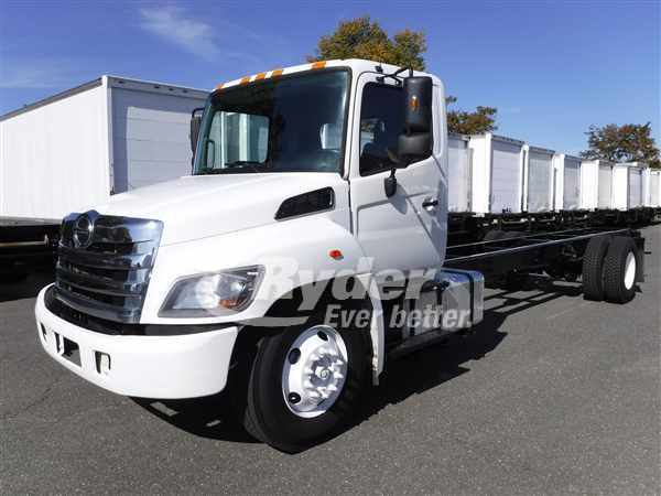 2014 HINO 338 CAB CHASSIS TRUCK #668031