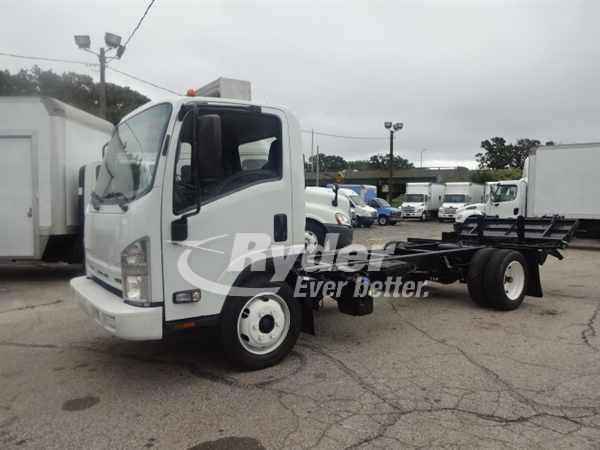 USED 2015 ISUZU NRR CAB CHASSIS TRUCK #660973