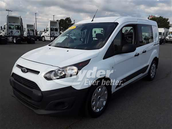 USED 2015 FORD TRANSIT CONNECT CARGO VAN TRUCK #665453