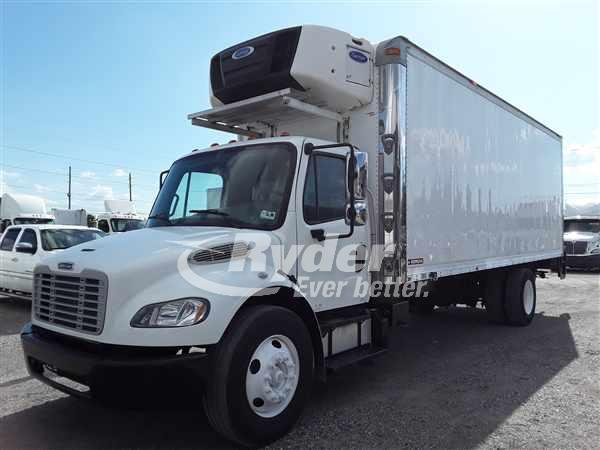 USED 2015 FREIGHTLINER M2 106 REEFER TRUCK #664091