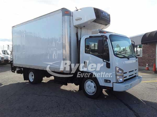 USED 2015 ISUZU NQR REEFER TRUCK #669155