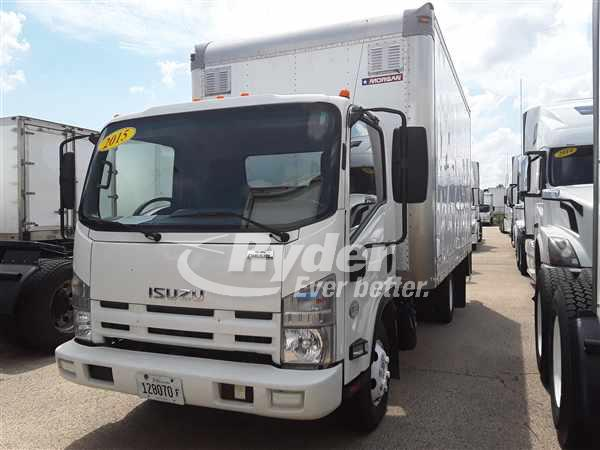 USED 2015 ISUZU NPR HD BOX VAN TRUCK #662663