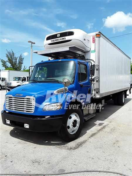 USED 2015 FREIGHTLINER M2 106 REEFER TRUCK #661002