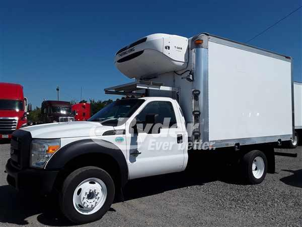 USED 2015 FORD F450 REEFER TRUCK #666581