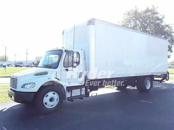 USED 2012 FREIGHTLINER M2 106 BOX VAN TRUCK #663712