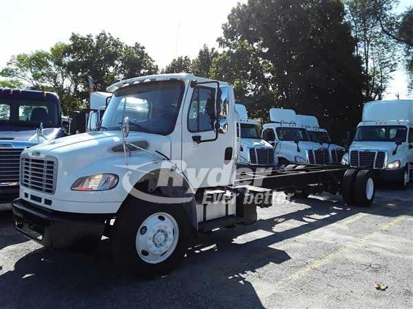 2016 FREIGHTLINER M2 106 CAB CHASSIS TRUCK #663535