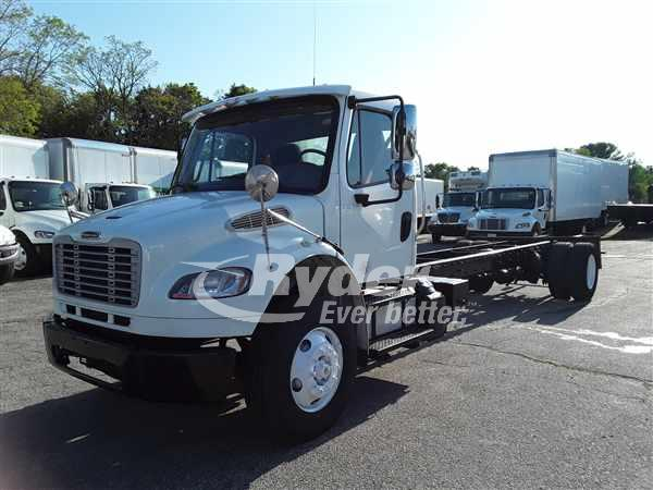 USED 2016 FREIGHTLINER M2 106 CAB CHASSIS TRUCK #665083