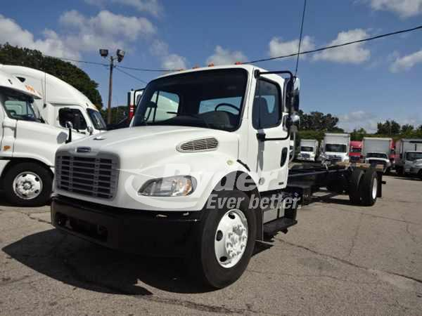 2012 FREIGHTLINER M2 106 CAB CHASSIS TRUCK #661155