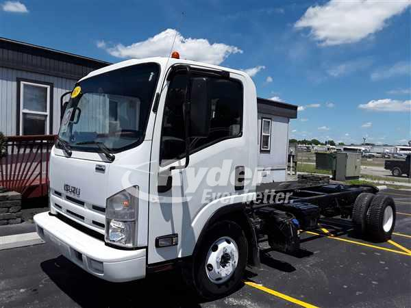 USED 2015 ISUZU NPR HD BOX VAN TRUCK #662318
