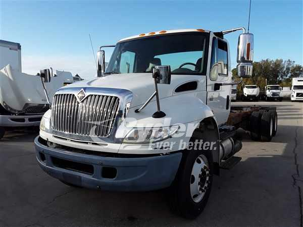 USED 2007 NAVISTAR INTERNATIONAL 4400 FLATBED TRUCK #668702