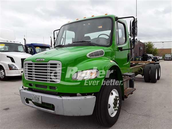 USED 2012 FREIGHTLINER M2 106 CAB CHASSIS TRUCK #663255
