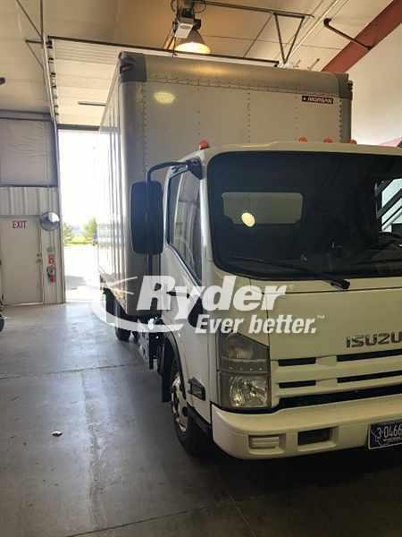 USED 2015 ISUZU NPR HD BOX VAN TRUCK #663206