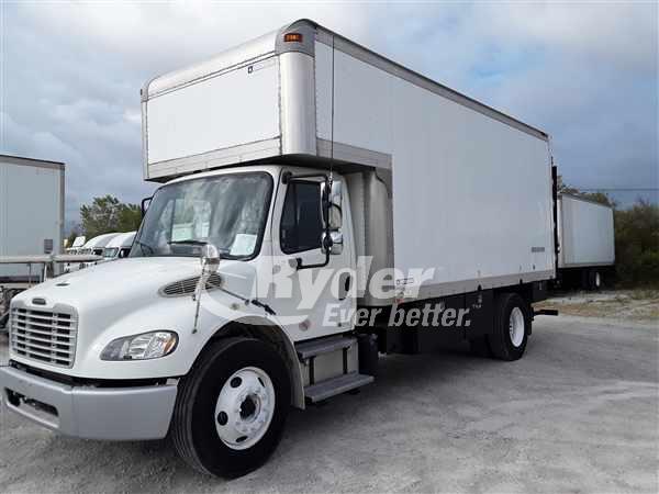 2012 FREIGHTLINER M2 106 BOX VAN TRUCK #663805