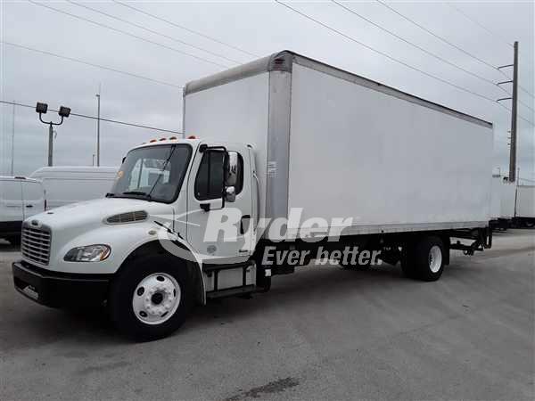 USED 2012 FREIGHTLINER M2 106 BOX VAN TRUCK #662425