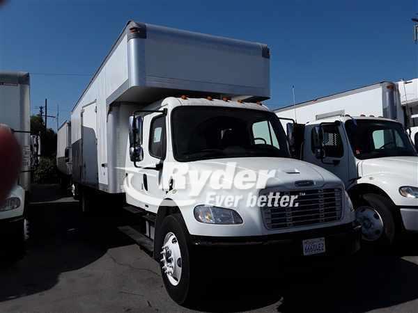 USED 2012 FREIGHTLINER M2 106 BOX VAN TRUCK #663773