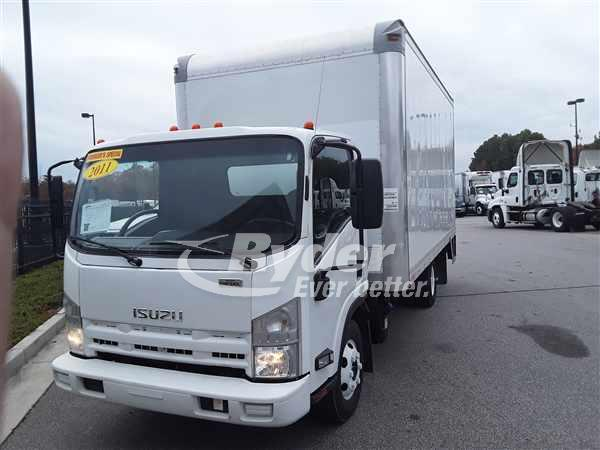 USED 2011 ISUZU NPR HD BOX VAN TRUCK #660534