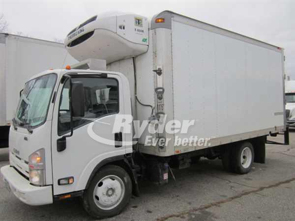 USED 2011 ISUZU NRR REEFER TRUCK #660791
