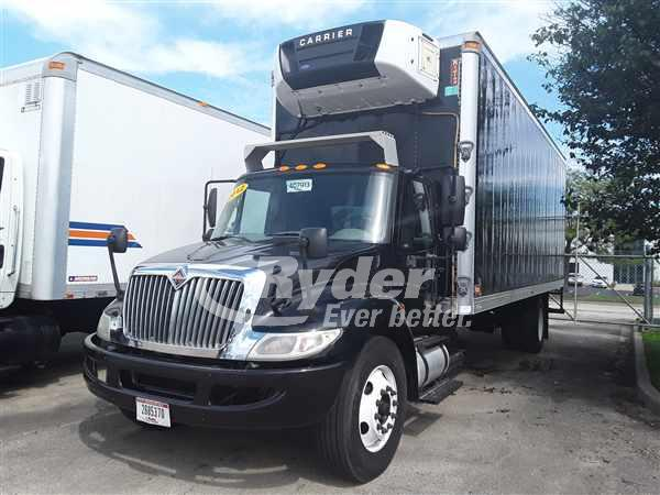 2012 NAVISTAR INTERNATIONAL 4300 REEFER TRUCK #663543