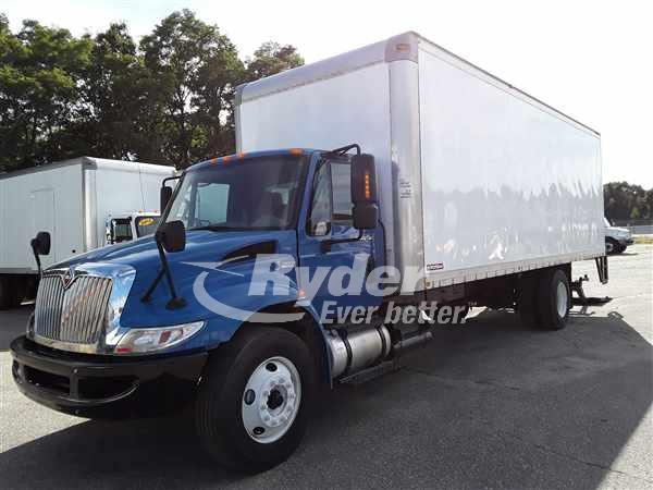 USED 2012 NAVISTAR INTERNATIONAL 4300 BOX VAN TRUCK #668723