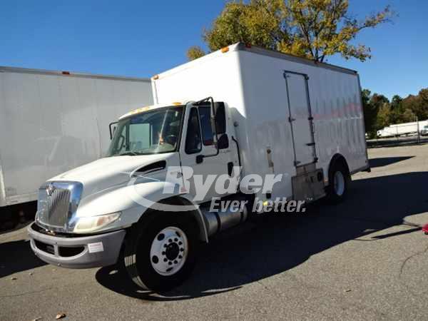 USED 2012 NAVISTAR INTERNATIONAL 4300 BOX VAN TRUCK #661190