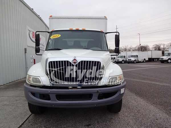USED 2012 NAVISTAR INTERNATIONAL 4300 BOX VAN TRUCK #661013