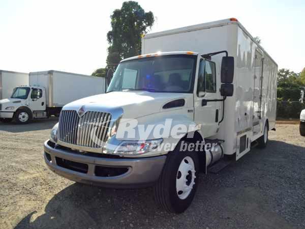 USED 2012 NAVISTAR INTERNATIONAL 4300 BOX VAN TRUCK #661028