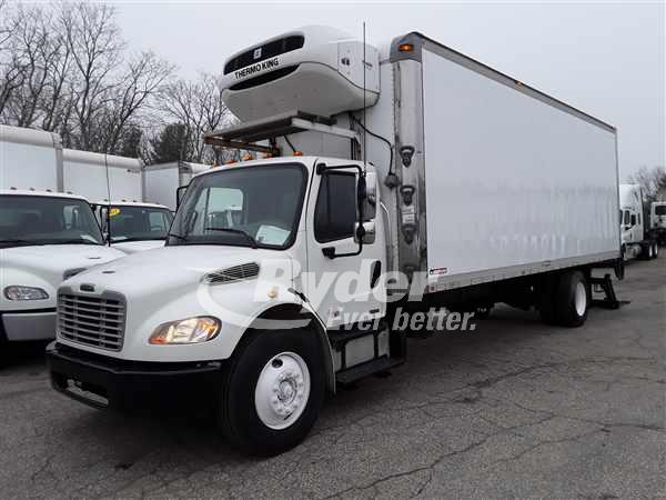 USED 2012 FREIGHTLINER M2 106 REEFER TRUCK #662311