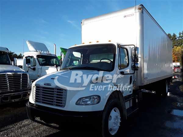 USED 2012 FREIGHTLINER M2 106 BOX VAN TRUCK #669185