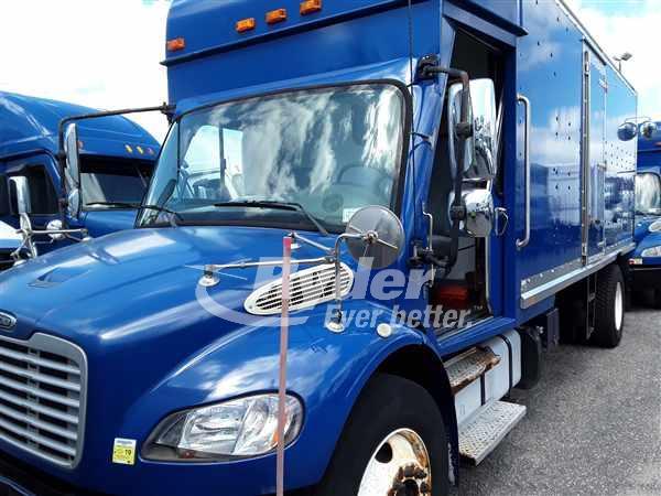 USED 2011 FREIGHTLINER M2 106 BOX VAN TRUCK #663133