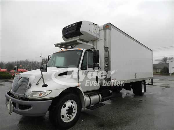 USED 2012 NAVISTAR INTERNATIONAL 4300 REEFER TRUCK #660854