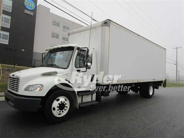 2012 FREIGHTLINER M2 106 BOX VAN TRUCK #669081