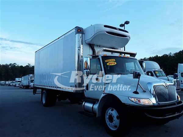 USED 2012 NAVISTAR INTERNATIONAL 4300 REEFER TRUCK #665833