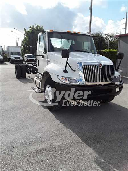 USED 2012 NAVISTAR INTERNATIONAL 4300 CAB CHASSIS TRUCK #660737