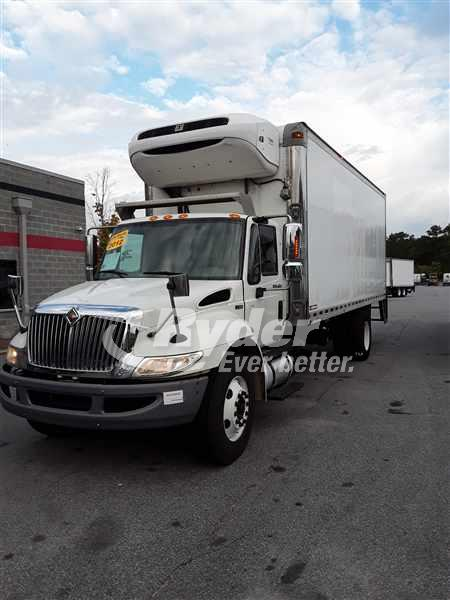 2012 NAVISTAR INTERNATIONAL 4300 REEFER TRUCK #667644