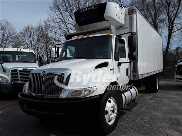 USED 2012 NAVISTAR INTERNATIONAL 4300 REEFER TRUCK #663492