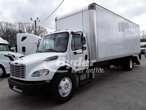USED 2012 FREIGHTLINER M2 106 BOX VAN TRUCK #662459