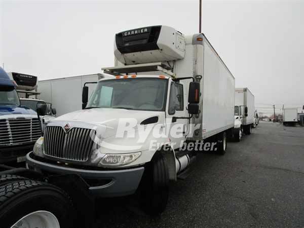USED 2011 NAVISTAR INTERNATIONAL 4300 REEFER TRUCK #660853
