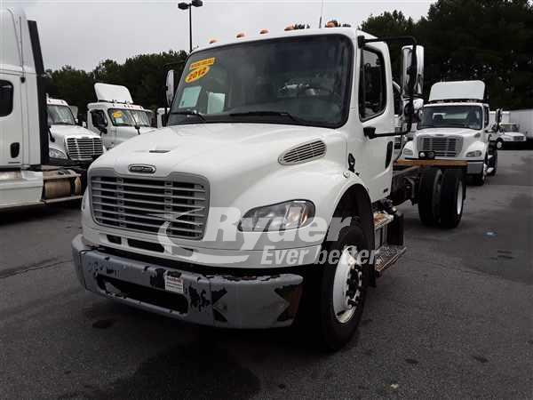 USED 2012 FREIGHTLINER M2 106 CAB CHASSIS TRUCK #662792
