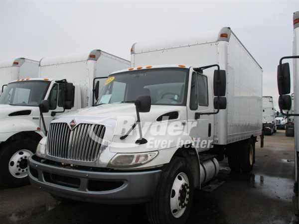 USED 2012 NAVISTAR INTERNATIONAL 4300LP BOX VAN TRUCK #660990