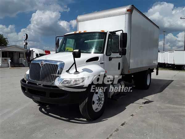 USED 2012 NAVISTAR INTERNATIONAL 4300LP BOX VAN TRUCK #662797
