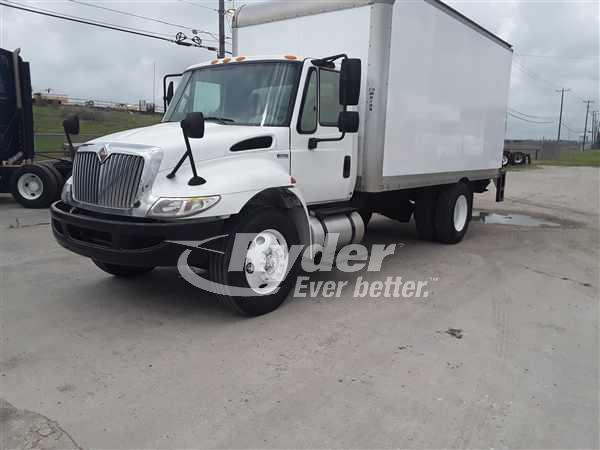 USED 2012 NAVISTAR INTERNATIONAL 4300LP BOX VAN TRUCK #662498