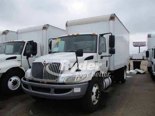 USED 2012 NAVISTAR INTERNATIONAL 4300LP BOX VAN TRUCK #661319
