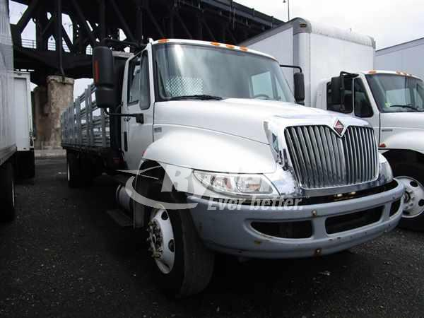 USED 2012 NAVISTAR INTERNATIONAL 4300 FLATBED TRUCK #661646