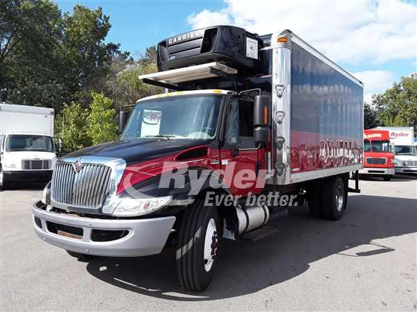 USED 2012 NAVISTAR INTERNATIONAL 4300 REEFER TRUCK #665831