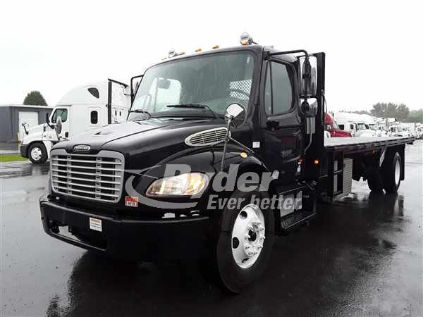 USED 2012 FREIGHTLINER M2 106 FLATBED TRUCK #663134