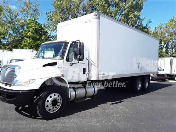 USED 2012 NAVISTAR INTERNATIONAL 4400 BOX VAN TRUCK #663503