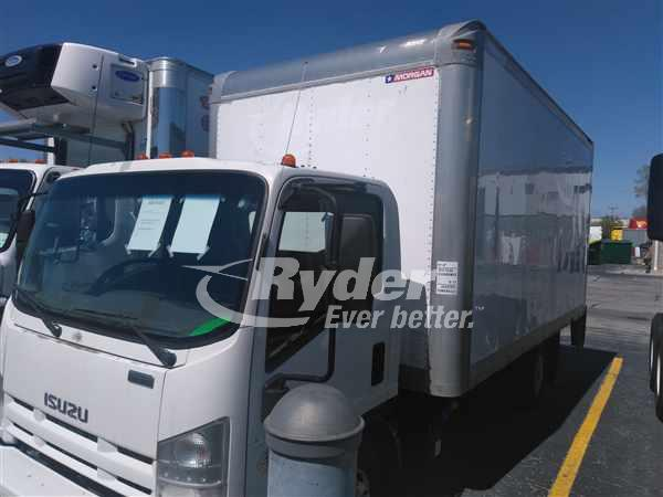 USED 2011 ISUZU NPR HD BOX VAN TRUCK #660471